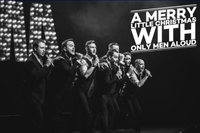 A Merry Little Christmas with Only Men Aloud Poster
